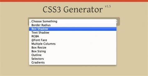 Outline Generator Css by Css3 Generators And Other Helpful Tools