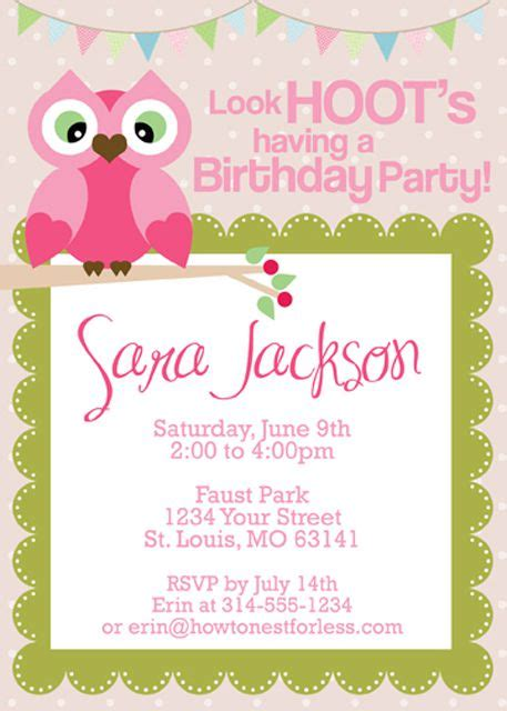free printable birthday invitations 9 years old 15 free printable birthday invitations for all ages