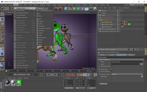 cinema 4d character template cinema 4d