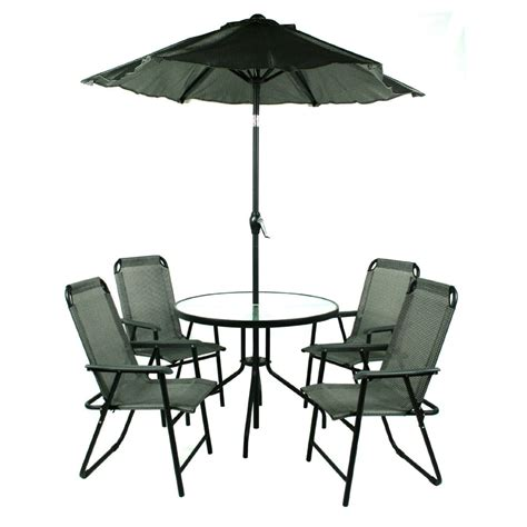 Round Table With Umbrella For Patio Mike Davies S Home Patio Table And Umbrella