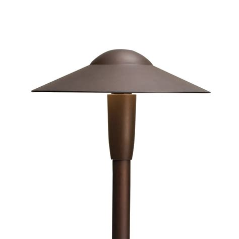 Kichler Lighting 15810 Led Dome Path Light Atg Stores Kichler Pathway Lighting