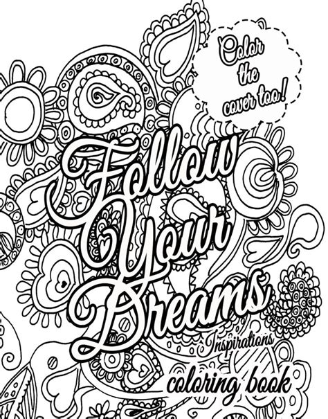 printable coloring pages with inspirational quotes inspirational coloring pages