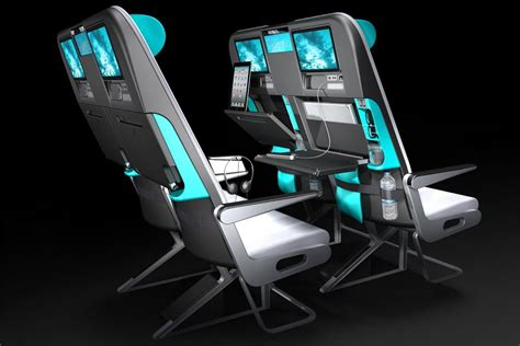 most comfortable coach seats new smaller coach seat designs for planes digital trends