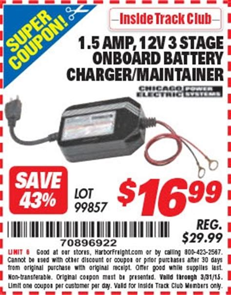 Promo Promo Promo Promo Charger Battery D C 9v Aa Aaa Merk Kon harbor freight tools coupon database free coupons 25 percent coupons toolbox coupons 1