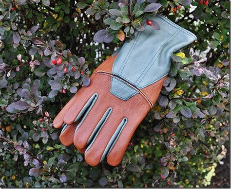winter gardening gloves lined goatskin gloves keep warm for winter gardening