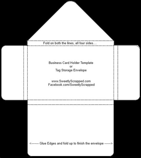 Card And Envelope Template by Envelope Templates Boxes Envelopes Etc