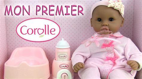 Tete De Lit Molletonnée 1509 by Corolle Poup 233 E Baby Doll Mon Premier B 233 B 233 Calin Grand