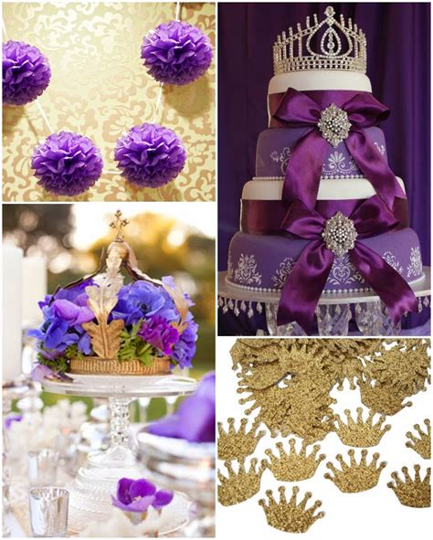 princess themed quinceanera decorations purple princess a royal sweet fifteen quinceanera theme