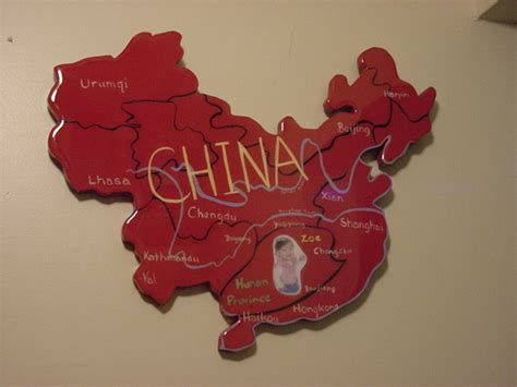wonderful Picture Wall Decor Ideas #5: Red%20China%20Map-Zoe.jpg