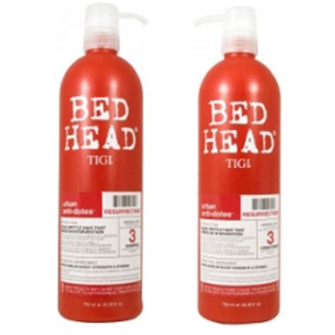 bed head tigi tigi bed head urban ressurection tween duo 2 products free shipping reviews