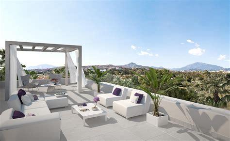 modern luxury penthouses new modern luxury penthouse with large terrace in cataleya estepona realista