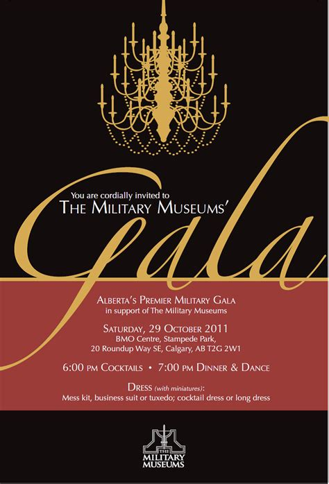 Gala Invitation Card Template by Gala Invitation Minus Chandelier Design Stationery