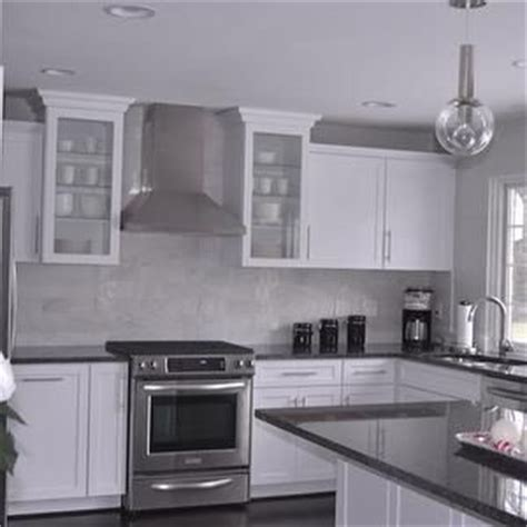 steel gray granite countertops with white cabinets gray granite countertops contemporary kitchen behr
