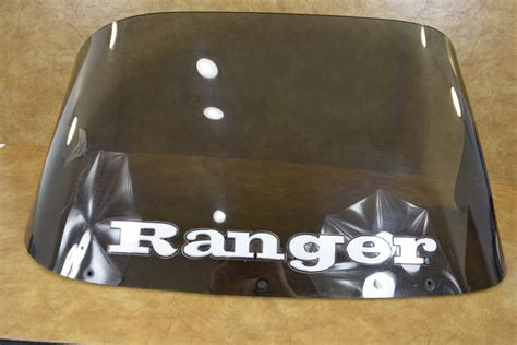 tinted boat windshield used ranger tinted plexiglass boat windshield 17 quot h x 32