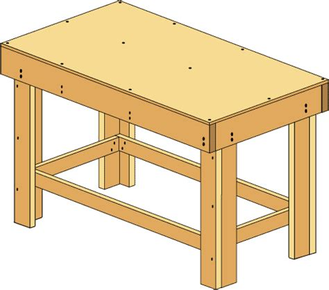 work bench build how to build a workbench easy diy plans