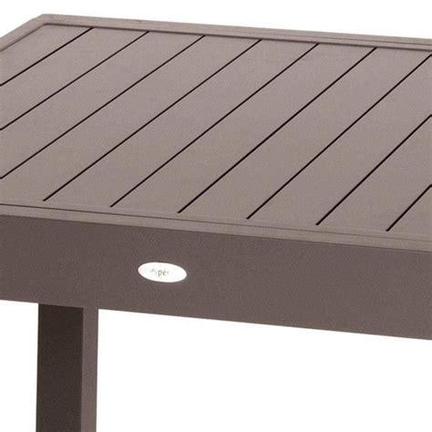 tavolo 12 persone tavolo da giardino prolungabile piazza alluminio marrone
