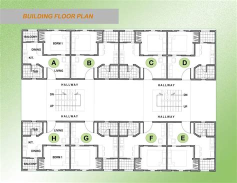 Icon Condo Floor Plan by La Salle Avenue Condo Residences Magnetize Negros Properties
