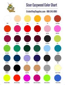 siser easy color chart siser easyweed heat transfer vinyl 15 inch x 12 inch sheet for