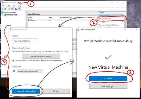 console virtuale creare una macchina virtuale con hyper v microsoft docs