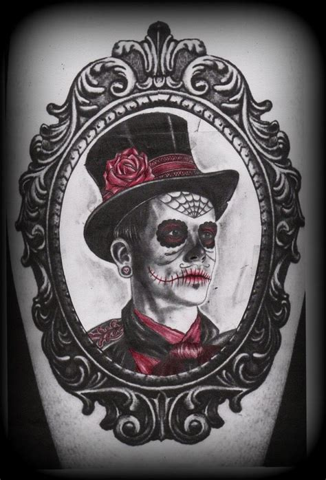 day of the dead couple tattoo 10 best images about day of dead on