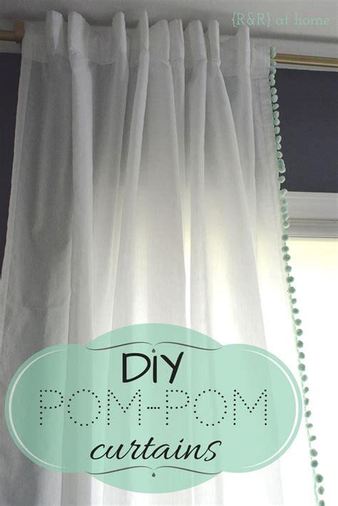 diy pom pom curtains best 25 pom pom curtains ideas on pinterest curtains to