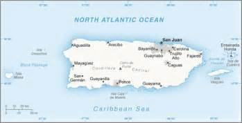 A Map Of Puerto Rico by Puerto Rico Maps