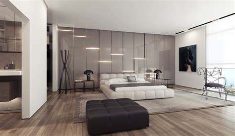 features layout ideas 3 white platform bed gloss feature wall interior design