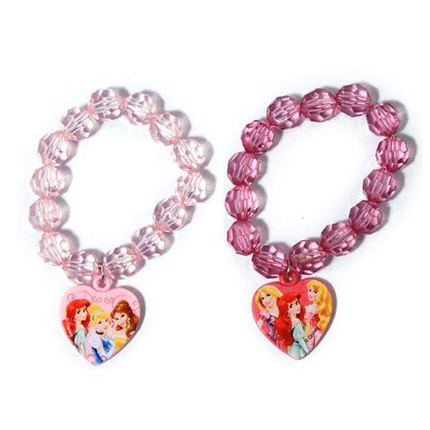 disney princess fashion jewelry bracelet 2 pack
