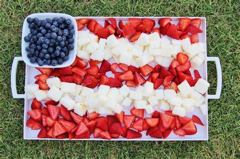 patriotic berry cake dessert platter around my family