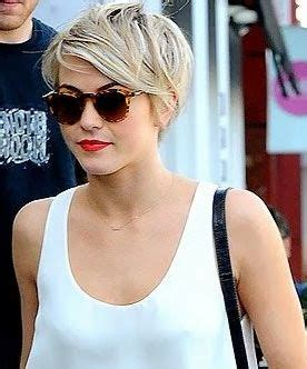 how does julianne hough style her pixie cut kaley cuoco cut her hair top knotch blogg