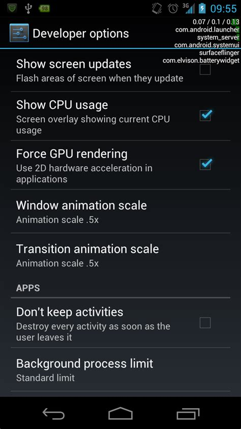 android how to read the stock cpu usage data stack overflow