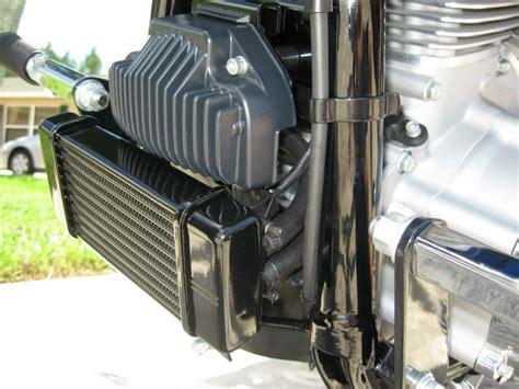jagg oil cooler with fan installed jagg oil cooler on street bob harley davidson
