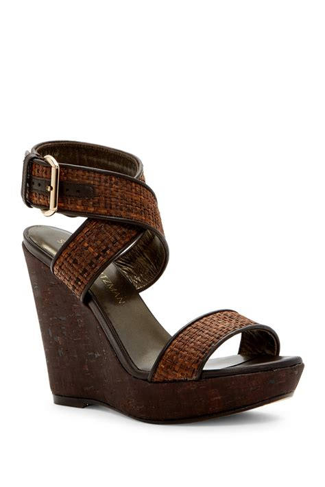 Wedges Sendal Marni Mirror Quality stuart weitzman crossover leather wedge sandal nordstrom rack