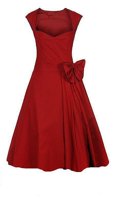50s swing dress uk dresses red royal blue black wedding elegant calf length
