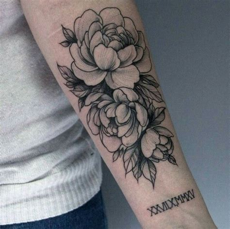 tattoo on arm for female 11 best peonies images on pinterest tattoo designs
