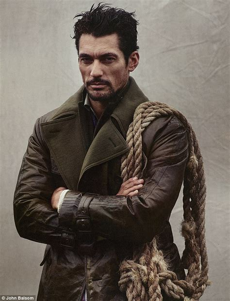 rugged hair exclusive so that s why he s a supermodel david gandy is