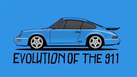 Porsche Media evolution of the porsche 911 donut media