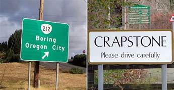Unique City Names by Pics Photos Most Funny Town Names