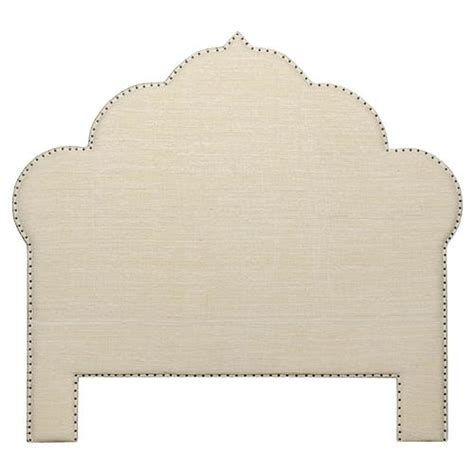 bodhi global bazaar cotton nail trim headboard