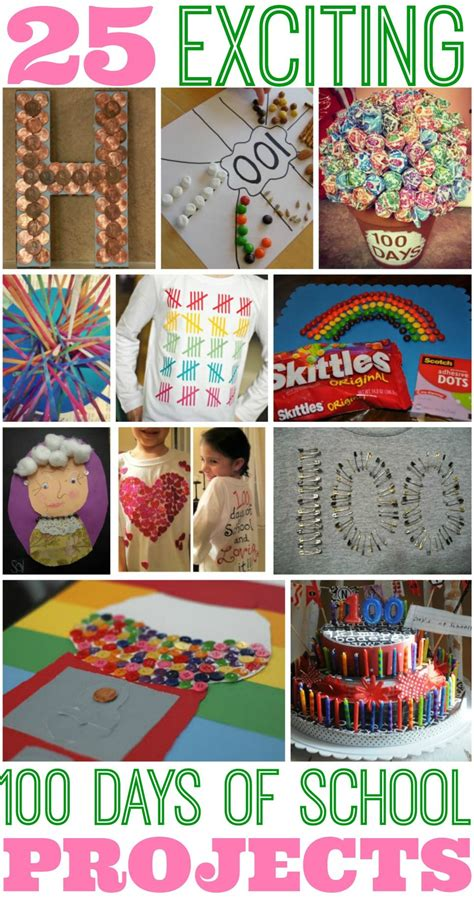 100 small ideas for top 25 best 100 days of school project ideas project ideas