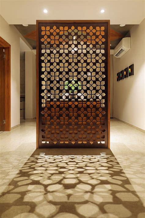 floral pattern inspires apartment interiors room partition designs apartment interior