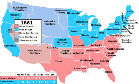 map of the united states before civil war the republican dilemma on a map goplifer
