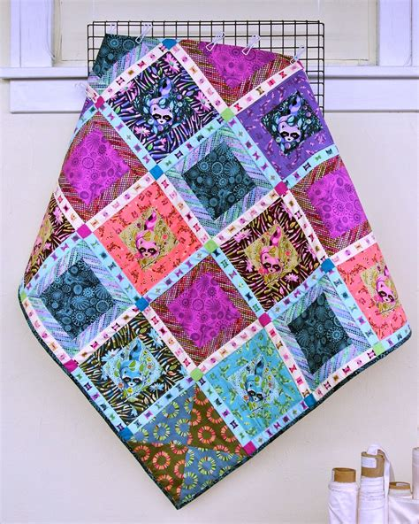 Tula Quilt by Treadle Yard Goods Tula Pink Quilt