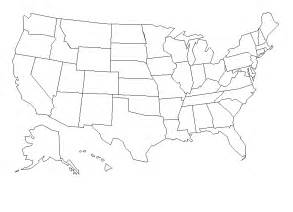 large black and white us map index of images