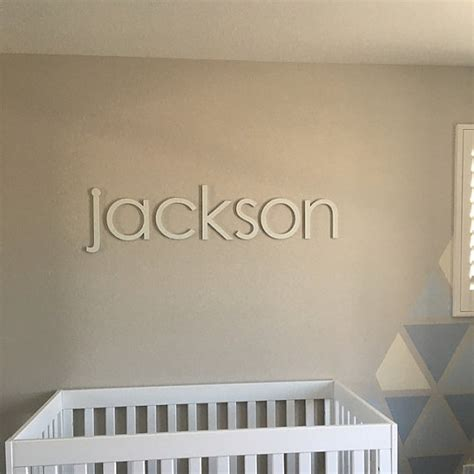 10 nursery wall letters nursery decor wooden letters