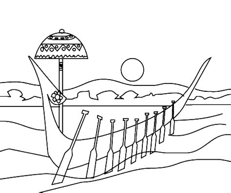 onam boat drawing free onam coloring pages printable pookalam sketch