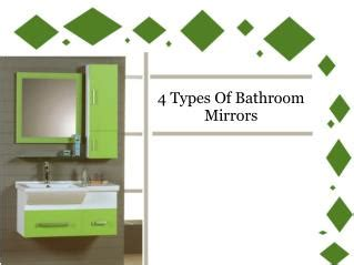 types of bathroom mirrors ppt getting your bathroom squeaky clean powerpoint