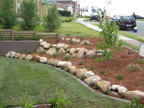 rocks for garden borders 17 best ideas about lawn edging stones on