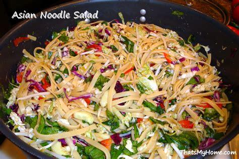 noodle salad recipes asian noodle salad recipe dishmaps