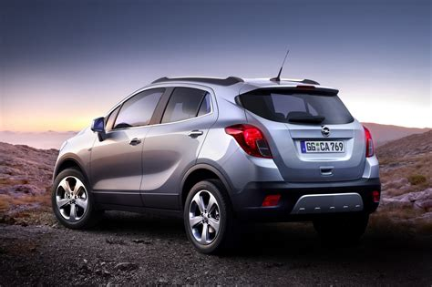 opel suv opel mokka small crossover photos and details